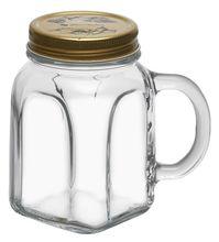 Borcan limonada cu maner si capac 450ml Homemade