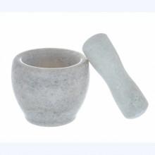 Mojar din marmura Heinner, diametru 10 cm, pistil 12 cm