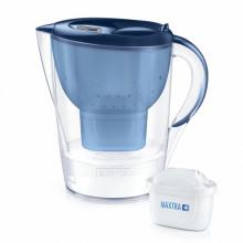 Resigilat: Cana filtranta Brita Marella Cool BR1039271, capacitate 2,4 litri, MAXTRA+, culoare albastru