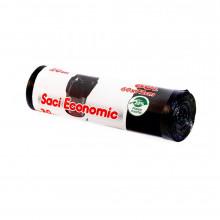 Saci menaj ECONOMIC, 60 l.XL , negru, 60x80 cm., 20 buc./rola