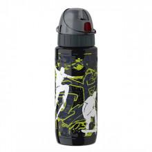 Sticla termos pentru copii TEFAL Drink2Go Skateboard K3192112, 0.6 litri, inox, negru