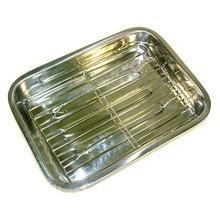 Tava din inox pentru lasagna KingHoff, lungime 41 cm
