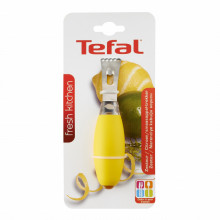 Accesoriu pentru razuit coaja citrice Tefal Fresh Kitchen K0613311, lungime 20 cm, galben