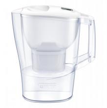 Cana filtranta BRITA Aluna 2,5 L, 3 filtre incluse Maxtra+ (white)