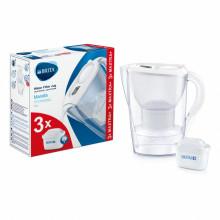 Cana filtranta Brita Marella Cool BR1039273, capacitate 2,4 litri, MAXTRA+, culoare alb