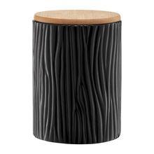 Container din Doldomita cu capac Bamboo 1110 ml Tuvo Negru