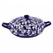 Cratita ceramica cu capac Peterhof, capacitate 2.5 litri, forma rotunda