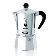 Espressor pentru aragaz Bialetti, capacitate 3 cupe, Seria Break, negru