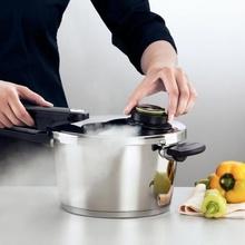 Oala sub presiune Fissler VitaVit Premium, capacitate 3,5 Litri, diametru 22 cm, accesoriu aburi, inductie