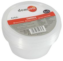 Set containere alimente 300ml 3+1 gratis Omnia