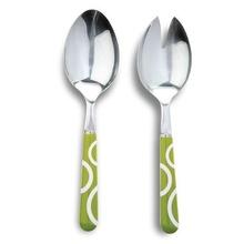 Set de tacamuri pentru salata Nava, 2 piese, verde
