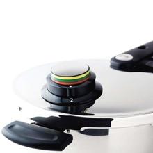 Set oala + tigaie (cratita) sub presiune Fissler VitaVit Premium, capacitate 6 + 2.5 Litri, diametru 22 cm, accesoriu aburi, inductie
