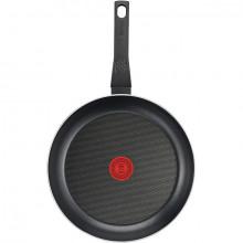 Tigaie cu interior anti-aderent Tefal Simply Clean B5670453, diametru 24 cm, negru