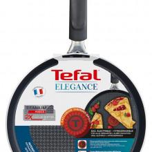 Tigaie pentru clatite cu interior anti-aderent Tefal Elegance C3671003, diametru 25 cm