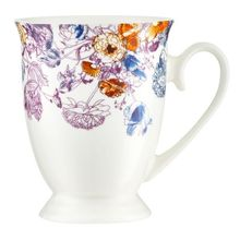 Cana Diana 300ml flori 2 roz New Bone China