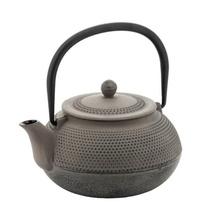 Ceainic din fonta KingHoff, capacitate 850 ml, inductie (Culoare: gri)