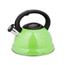 Ceainic din inox cu fluier KingHoff, capacitate 3 litri, inductie