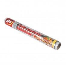 Folie aluminiu Oti, 20m, tipla, pt. uz casnic