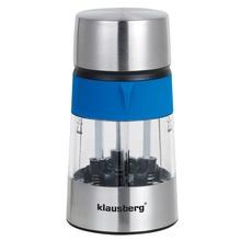 Rasnita 3 in 1 pentru sare si piper, condimente Klausberg, 3 compartimente