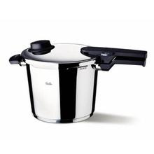 Set oala + tigaie (cratita) sub presiune Fissler VitaVit Comfort, capacitate 6 + 2.5 litri, diametru 22 cm, inductie