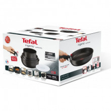 Set vase Tefal Ingenio Authentic L6719452, 6 piese, inductie