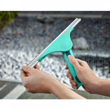 Racleta geamuri LEIFHEIT Powerslide, 28 cm, turcoaz, cod produs 51425, cod ean 4006501514257