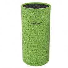 Suport pentru cutite King Hoff, inaltime 22 cm, verde