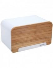 Cutie pentru paine KingHoff KH-1072, lungime 35 cm, alb