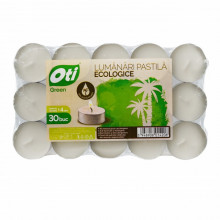 Lumanari ecologice tip pastila OTI, 30 buc./set