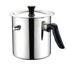 Oala pentru lapte Grunberg GR-1517, 2.5 litri, inox, capac
