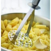 Pasator pentru cartofi Fissler, Seria Q!, material inox satinat, lungime 27 cm, rezistenta la temperaturi inalte