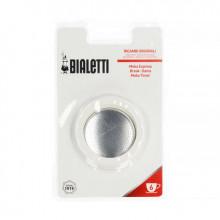 Set 3 garnituri+sita pentru espressor aragaz Bialetti, marime 6 cupe