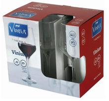Set 6 pahare vin 290ml Vinium