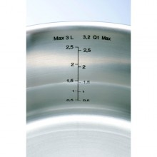 Set oale inox Tefal Intuition A702SC84, 10 piese, inox, inductie, interior gradat