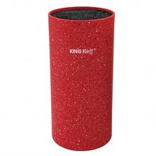 Suport pentru cutite King Hoff, inaltime 22 cm, rosu