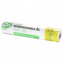 Pungi biodegradabile,405x30 cm, 200 buc/rola, 5 Litri