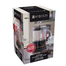 Cafetiera cu filtru inox 1000ml
