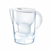 Cana filtranta Brita Marella Cool 2,4 L, 3 filtre incluse Maxtra+ (alb)