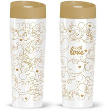 Cana termos Minnie & Mickey gold with love 400ml