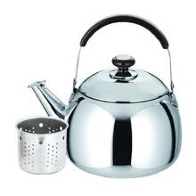 Ceainic din inox cu sita KingHoff, capacitate 0,8 litri, inductie