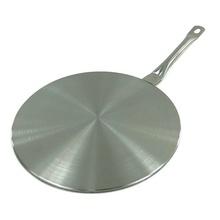 Dispozitiv (adaptor) pentru plite cu inductie KingHoff, inox, diametru 19 cm