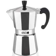 Espressor pentru aragaz Eva Collection, aluminiu, capacitate 1 cupe