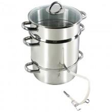Oala pentru suc din fructe sau legume, inductie, capacitate 8 litri, Colectia Winstone