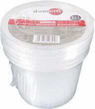 Set containere alimente 440ml 3+1 gratis Omnia