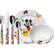 Set tacamuri pentru copii WMF Mickey Mouse, 6 piese