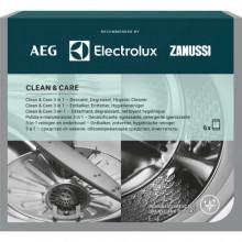 Solutie 3in1 Clean and Care pentru masinile de spalat rufe si masinile de spalat vase Electrolux M3GCP400