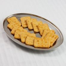 Tava ovala din inox pentru servire Kinghoff, dimensiune 30 cm
