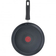 Tigaie pentru clatite cu interior anti-aderent Tefal Daily Chef G2733872, diametru 25 cm, inductie