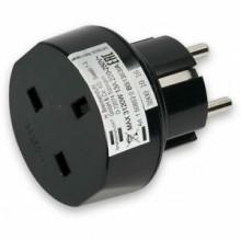 Adaptor pentru priza Brennenstuhl, UK to Europe, cod produs 1508530, ean 4007123170739