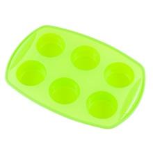 Forma din silicon pentru briose KingHoff, 6 cupe